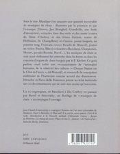Miaulique ; fantaisie chromatique - 4ème de couverture - Format classique