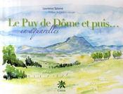 Le Puy de Dôme et puis... en aquarelles - Intérieur - Format classique