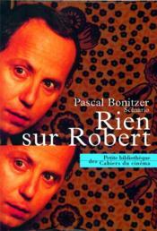 Rien sur Robert - Couverture - Format classique