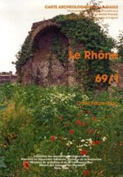 Carte Archeologique De La Gaule T.69/1 ; Le Rhône - Couverture - Format classique