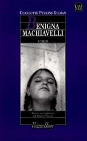Benigna machiavelli - Couverture - Format classique