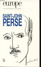 No 799/800 - Nov.-Ded. 1995 - Saint John Perse - Couverture - Format classique