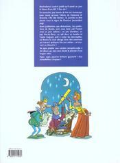Les prédictions de Nostra t.1 ; l'as des astres - 4ème de couverture - Format classique