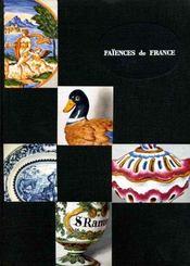 Faïences de France. - Intérieur - Format classique