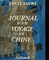 Journal D Un Voyage En Chine. - Couverture - Format classique