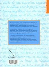Francais ; textes et methodes - 4ème de couverture - Format classique