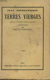 Terres Vierges - Couverture - Format classique