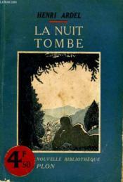 La Nuit Tombe - Couverture - Format classique