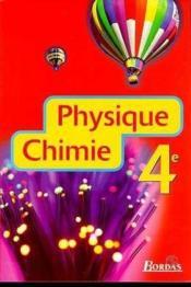 Physique chimie 4e eleve 98 - Couverture - Format classique