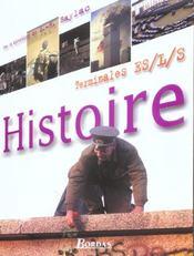 Histoire terminales es l s (édition 2004) - Intérieur - Format classique