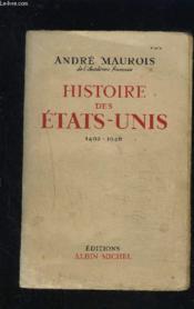 Histoire Des Etats Unis- 1492-1946 - Couverture - Format classique