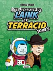 Les aventures de Laink et Terracid T.2 - Couverture - Format classique