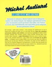 Michel Audiard ; le livre petit maïs costaud - 4ème de couverture - Format classique