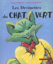 Les devinettes du chat vert - Intérieur - Format classique