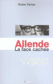 Allende ; La Face Cachee ; Antisemitisme Et Eugenisme - Intérieur - Format classique