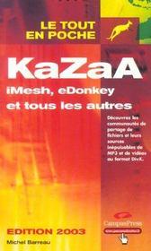 Kazaa - Intérieur - Format classique