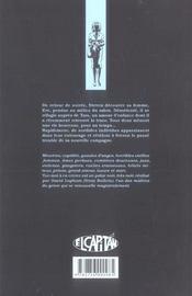 Tue-Moi A En Crever T01 - 4ème de couverture - Format classique