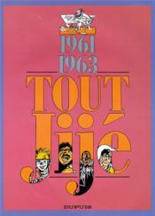 Tout Jije t.9 ; 1961-1963 - Couverture - Format classique