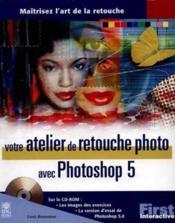 Studio Retouches Photo Photoshop 5 - Couverture - Format classique