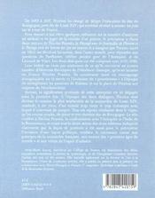 La leçon de peinture du duc de Bourgogne - 4ème de couverture - Format classique