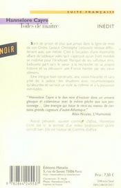 Toiles de maître - 4ème de couverture - Format classique