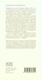 L'Emeraude Des Garamantes - 4ème de couverture - Format classique