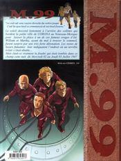 M.99, Tome 2 : Juillet - 4ème de couverture - Format classique