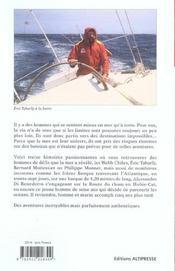 Skippers de l'aventure - 4ème de couverture - Format classique