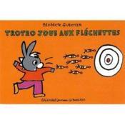 Trotro joue aux fléchettes - Couverture - Format classique