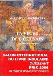 Veuve De L'Ecrivain (La) - Couverture - Format classique