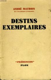 Destins Exemplaires - Couverture - Format classique