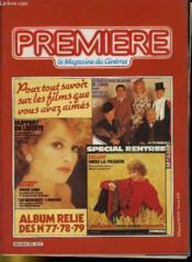 Premiere Album N°26 - 3 Numeros Introuvables - Album Relie Des N°77 - 78 - 79 - Couverture - Format classique