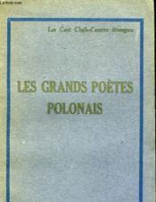 Les Grands Poetes Polonais - Couverture - Format classique