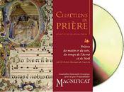Chrétiens en prière ; prières du matin et du soir, du temps de l'Avent et de Noël - Couverture - Format classique