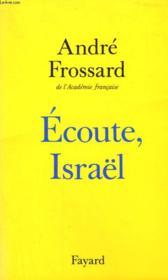 Écoute, Israël - Couverture - Format classique