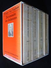 Le dictionnaire des litteratures n.71, 72, 73, 74 - Couverture - Format classique
