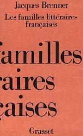 Les familles litteraires francaises - Couverture - Format classique
