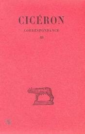 Correspondance t.3 - Couverture - Format classique