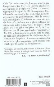 La Revolte Des Lettres - 4ème de couverture - Format classique