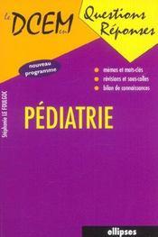 Pediatrie Nouveau Programme - Intérieur - Format classique