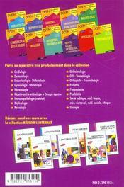 Pediatrie Nouveau Programme - 4ème de couverture - Format classique