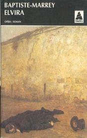Elvira ou l'ultima prova babel 88 - Intérieur - Format classique