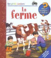 Les p'tits juniors/la ferme - Intérieur - Format classique