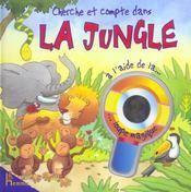 Cherche et compte dans la jungle à l'aide de la loupe magique - Intérieur - Format classique