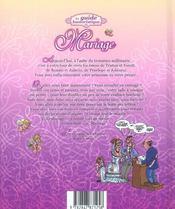 Le guide humoristique du mariage - 4ème de couverture - Format classique