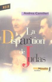 La disparition de Judas - Intérieur - Format classique