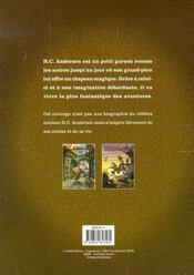 H.C. Andersen junior - Coffret tomes 1 & 2 - 4ème de couverture - Format classique