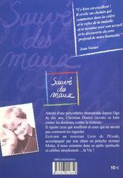 Sauve des maux - 4ème de couverture - Format classique