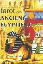 Coffret le tarot des anciens egyptiens - Intérieur - Format classique