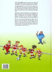 Les babyfoots t.1 - 4ème de couverture - Format classique